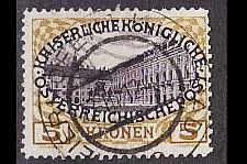 Buy ÖSTERREICH AUSTRIA [1908] MiNr 0155 z ( O/used ) [02]