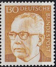 Buy GERMANY BUND [1972] MiNr 0728 ( **/mnh )