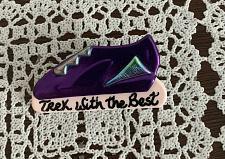 Buy Vintage Tennis Shoe Hiking Pin Purple Trek With The Best Signed Martha 1997 Rare