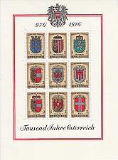 Buy ÖSTERREICH AUSTRIA [1976] MiNr 1522-30 Block 4 ( **/mnh ) Wappen