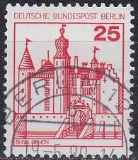 Buy GERMANY BERLIN [1978] MiNr 0587 ( O/used ) Bauwerke