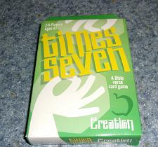 Buy Brand New Standard Publishing Times Seven Creation Bible Verse Card Game Charity