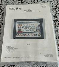 Buy Brand New Patsy Moore Happy Things Counted Cross Stitch Kit Cookbooks 308072