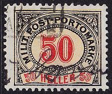 Buy ÖSTERREICH AUSTRIA [BosHerz Porto] MiNr 0012 B ( O/used )