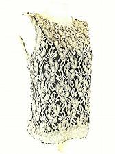 Buy Jones Wear Women's Sz 8 Beige Black Floral Lace Camisole Liner Top (E)