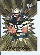 Buy Drew Brees 2001 Press Pass Breakout Die Cut