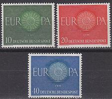 Buy GERMANY BUND [1960] MiNr 0337-39 ( **/mnh ) CEPT