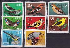 Buy GERMANY DDR [1973] MiNr 1834-41 ( **/mnh ) Vögel