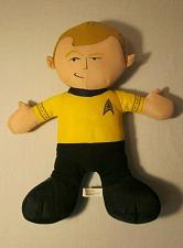 "Buy Toy Factory Star Trek 14"" Captain Kirk Plush Stuffed Doll Toy 2012"