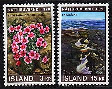 Buy ISLAND ICELAND [1970] MiNr 0447-48 ( **/mnh ) Landschaft