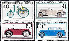 Buy GERMANY BUND [1982] MiNr 1123-26 ( **/mnh ) Auto