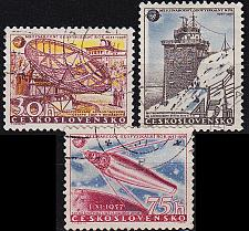 Buy CSSR [1957] MiNr 1055-57 ( O/used ) Weltraum