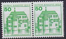 Buy GERMANY BERLIN [1980] MiNr 0615 A 2er ( **/mnh ) Burgen Schlösser