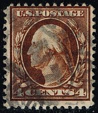Buy US #377 George Washington; Used (2Stars) |USA0377-08