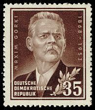 Buy Germany DDR #147 Maxim Gorky; MNH (3Stars)  DDR0147-04