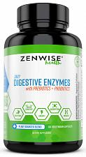 Buy Digestive Enzymes Plus Prebiotics & Probiotics - Natural Support for Better & -