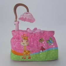 Buy Fisher Price Loving Family Nursery Pink Cradle Crib Dollhouse Furniture 2007 Bed