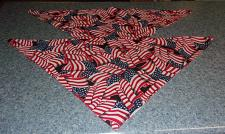 Buy Two Brand New Dog Bandanas Patriotic Flags For Cocker Spaniel Rescue Charity