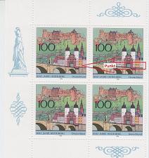 Buy GERMANY BUND [1996] MiNr 1868 I ( O/used ) [01] Plattenfehler