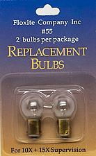 Buy Floxite No.55 Replacement Bulbs for 10X + 15X Supervision, 0.1 Pound