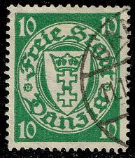 Buy Danzig #173a Coat of Arms; Used (4Stars) |DAN173a-04XRS