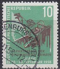 Buy GERMANY DDR [1958] MiNr 0657 ( OO/used )
