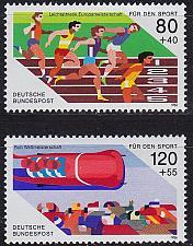 Buy GERMANY BUND [1986] MiNr 1269-70 ( **/mnh ) Sport