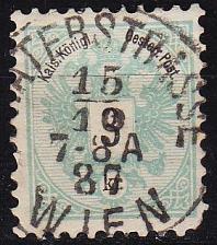 Buy ÖSTERREICH AUSTRIA [1883] MiNr 0045 D ( O/used ) [01]