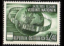 Buy ÖSTERREICH AUSTRIA [1955] MiNr 1022 ( **/mnh ) UNO