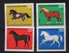 Buy GERMANY BUND [1969] MiNr 0578-81 ( **/mnh ) Tiere