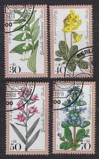 Buy GERMANY BERLIN [1978] MiNr 0573-76 ( O/used ) Blumen