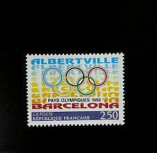 Buy 1992 France Olympic Games, Albertville & Barcelona Scott 2295 Mint F/VF NH