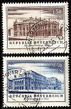 Buy ÖSTERREICH AUSTRIA [1955] MiNr 1020-21 ( O/used ) Architektur