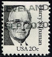 Buy US #1862 Harry S. Truman; Used (1Stars) |USA1862-07
