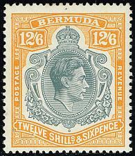 Buy Bermuda #127 King George VI; Unused (3Stars) |BER0127-01XVK