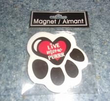 Buy Brand New Ceramic Cat Paw Design Live Meow Purr Magnet For Dog Rescue Charity