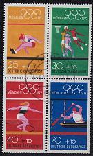 Buy GERMANY BUND [1972] MiNr 0734-37 4er ( O/used ) Olympiade
