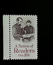 Buy 1984 20c Nation of Readers, Abraham Lincoln Scott 2106 Mint F/VF NH