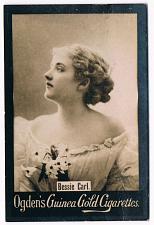 Buy Ogden's Guinea Gold Cigarettes Tobacco Card Bessie Carl Vintage