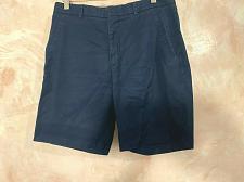 Buy Sandro Paris flat front men's shorts blue Navy Size 38( Read size)