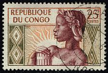 Buy Congo PR #89 Allegory of New Republic; Used (3Stars) |CPR0089-02XRS