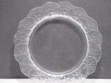 Buy Lalque frosted plate signed. glass