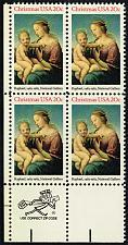 Buy US #2063 Madonna and Child Zip Block of 4; MNH (5Stars) |USA2063zip4-03
