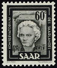 Buy Saar #205 Ludwig van Beethoven; MNH (4Stars) |SAA205-06XDP
