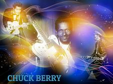 Buy CHUCK BERRY 3 FT X 5 FT FABRIC BANNER