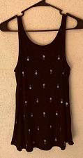 Buy O'Neill Open Back Pineapples Tank Top Black S Small