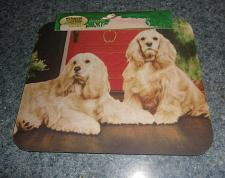 Buy Brand New Fiddlers Elbow Buff Cocker Spaniel Mouse Pad For Dog Rescue Charity
