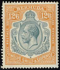 Buy Bermuda #97 King George V; Unused (2Stars) |BER0097-01XVK