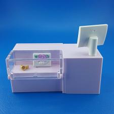 Buy Playmobil Fashion Store 9113 Pink Register Counter Display Case Mall With Purse
