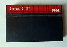 Buy Great Golf. Sega Master System PAL Game